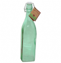 Kilner Clip Top Green Bottle 1 Litre